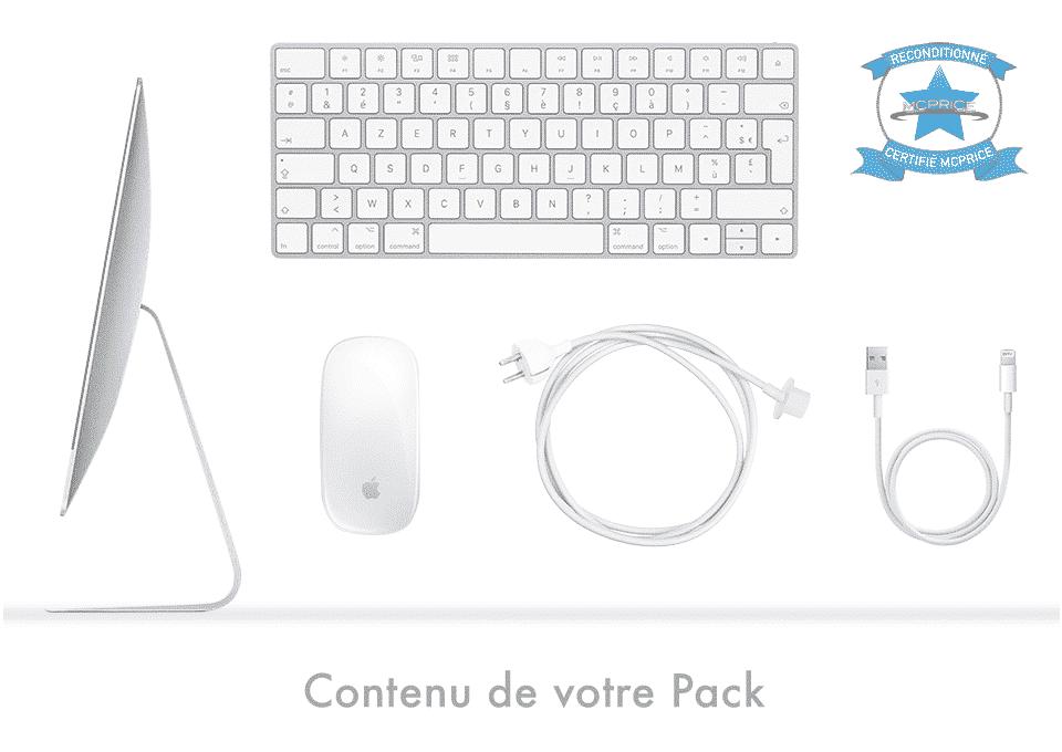Contenu de votre Pack