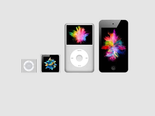 Apple iPod neufs