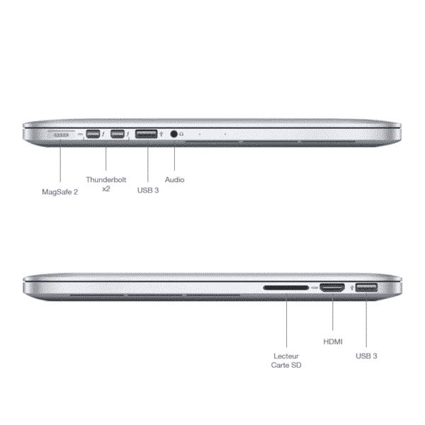 MacBookPro 2015 15 pouces connectique McPrice Trocadero Paris France