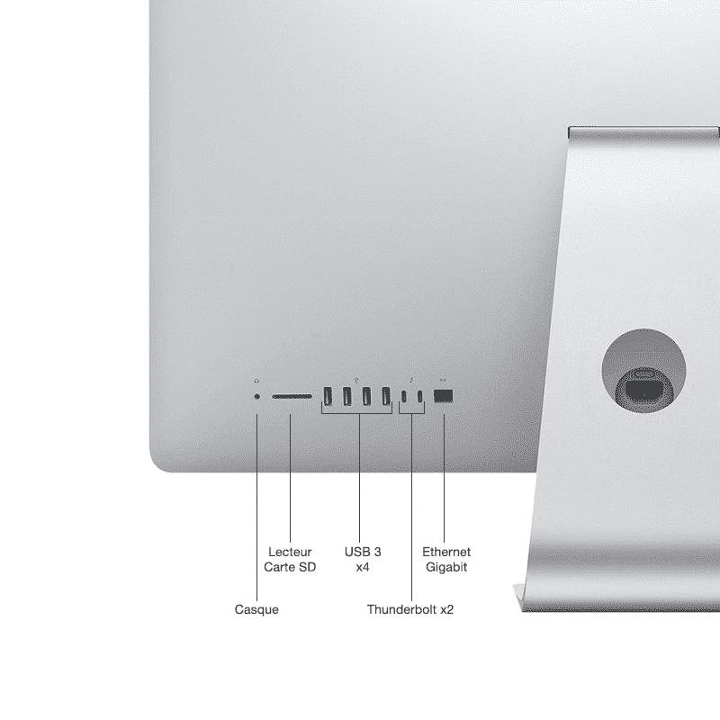 iMac 27 pouces connectique McPrice Trocadero Paris