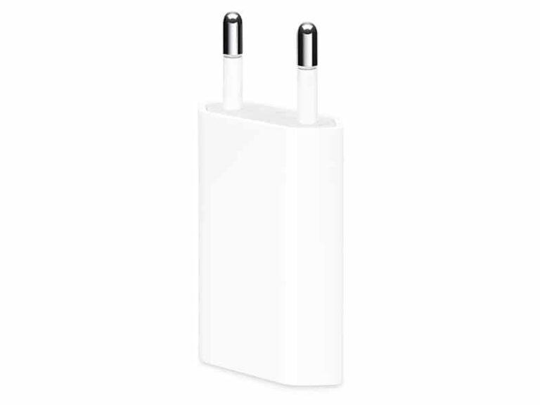 Apple Chargeur Secteur USB, 5W v1 McPrice Paris Trocadero