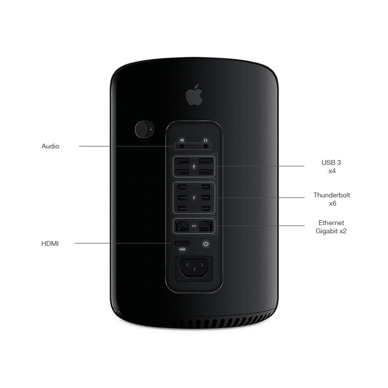 Apple Mac Pro 2013 Occasions & Reconditionnés Garantie 1 an en Stock | McPrice Paris Trocadero v2