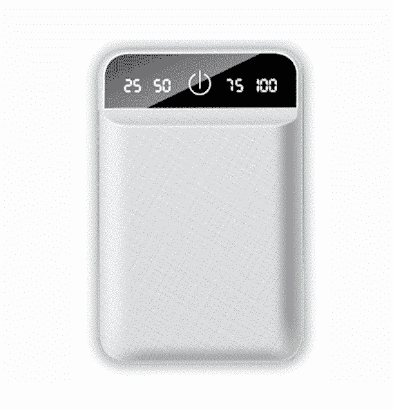 Batterie externe USB 4800mAh Blanc | McPrice Paris Trocadero