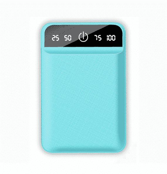 Batterie externe USB 4800mAh Bleu | McPrice Paris Trocadero