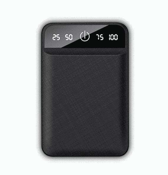 Batterie externe USB 4800mAh Couleur Noir | McPrice Paris Trocadero