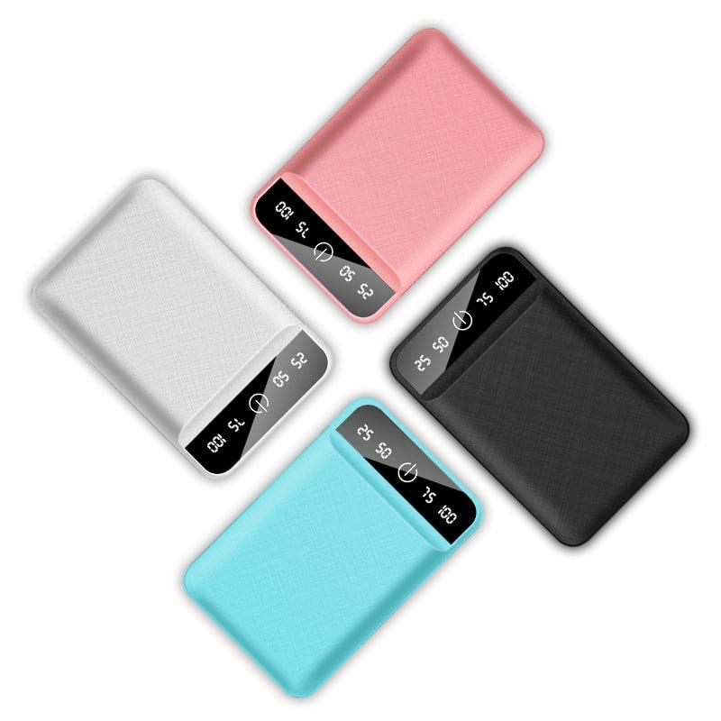 Batterie externe USB 4800mAh Gamme Couleurs | McPrice Paris Trocadero