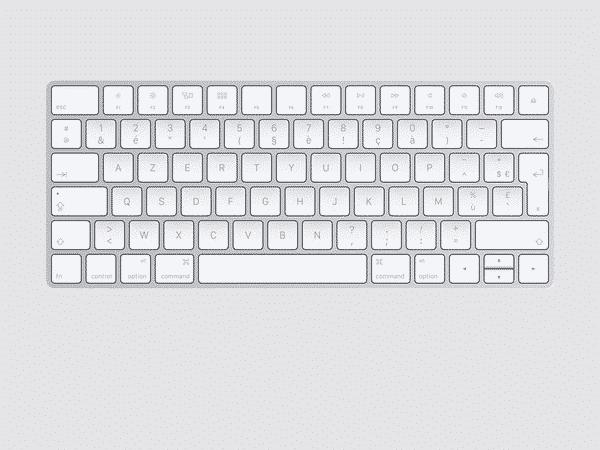 Apple Accessoires Claviers Mac