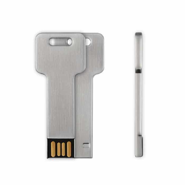 Clé 16 Go USB 2.0 Style Aluminium v1 McPrice Paris Trocadero