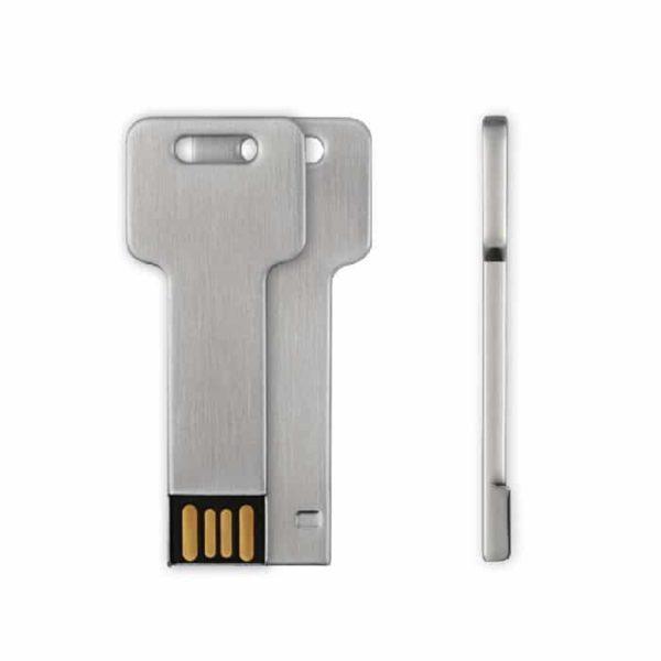 Clé 8 Go USB 2.0 Style Aluminium v1 McPrice Paris Trocadero