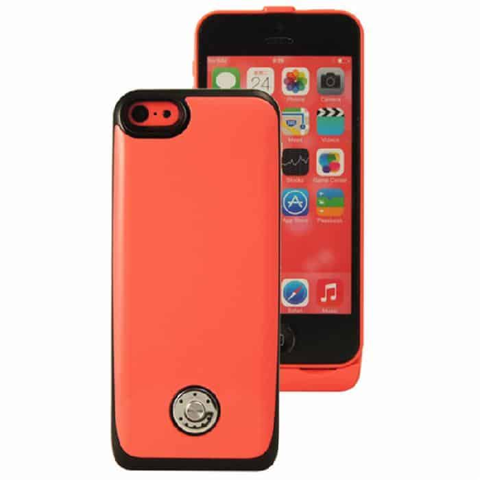 Coque avec batterie amovible 3000mAh pour iPhone 5/5S/5C - Rose Accessoires Garantie 1 an | McPrice Paris Trocadéro