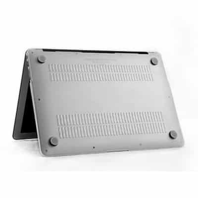 Coque de protection intégrale rigide Mat pour MacBook Air 13 Pouces A1369 et A1466 – Transparente / McPrice Paris Trocadéro 1