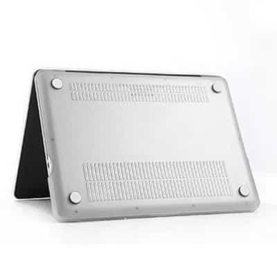 Coque de protection intégrale rigide Mat pour MacBook Pro 13 Pouces A1278 – Transparente / McPrice Paris Trocadéro 1