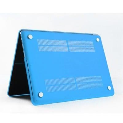 Coque de protection intégrale rigide mate pour MacBook Pro Rétina 13 Pouces A1502 et A1425 – Bleue / McPrice Paris Trocadéro 1