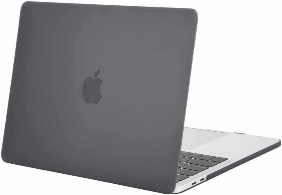 Coque de protection integrale rigide mate pour MacBook Pro Retina 15 Pouces A1707 New – Grise_McPrice Paris Trocadero v1.2