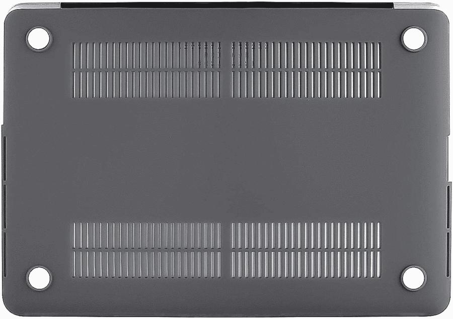 Coque de protection integrale rigide mate pour MacBook Pro Retina 15 Pouces A1707 New – Grise_McPrice Paris Trocadero v2