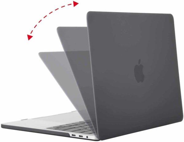 Coque de protection integrale rigide mate pour MacBook Pro Retina 15 Pouces A1707 New – Grise_McPrice Paris Trocadero v2.2