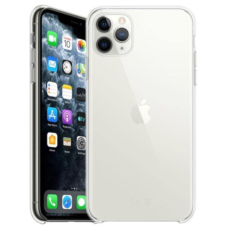 Coque iPhone 11 Pro Max Ultra Mince en gel 100 % transparente Accessoires Garantie 1 an   McPrice Paris Trocadéro