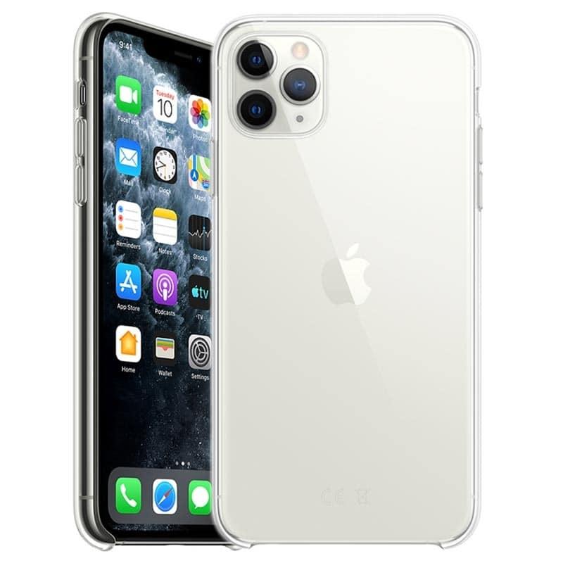 Coque iPhone 11 Pro Max Ultra Mince en gel 100 % transparente Accessoires Garantie 1 an | McPrice Paris Trocadéro