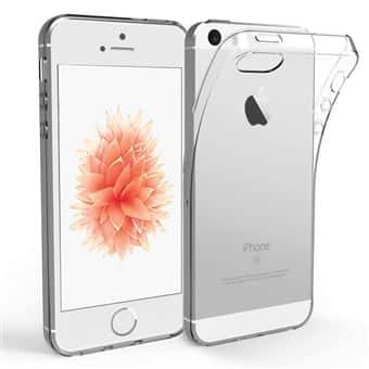 Coque iPhone 5/5S/SE – Ultra Mince en gel 100 % transparente Accessoires Garantie 1 an | McPrice Paris Trocadéro