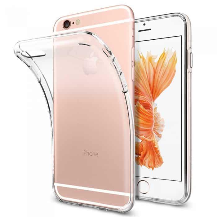 Coque iPhone 6 et 6S Plus Ultra Mince en gel 100 % transparente Accessoires Garantie 1 an | McPrice Paris Trocadéro