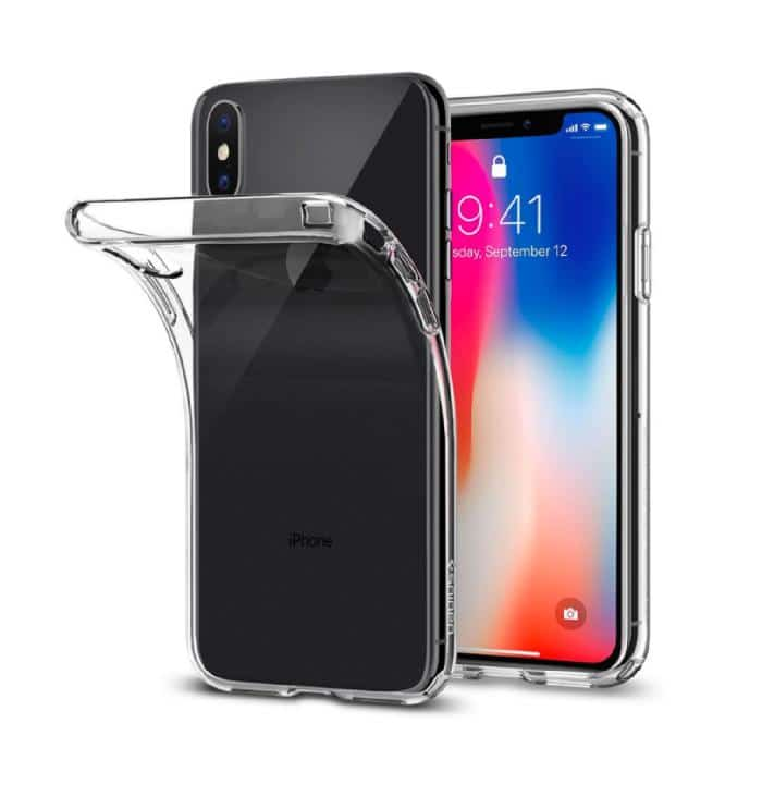 Coque iPhone X Ultra Mince en gel 100 % transparente Accessoires Garantie 1 an | McPrice Paris Trocadéro