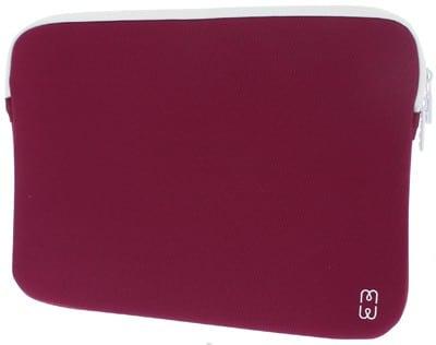 "Housse MW MacBook Pro Retina 13"" Prune / Blanc Accessoires Garantie 1 an | McPrice Paris Trocadéro"
