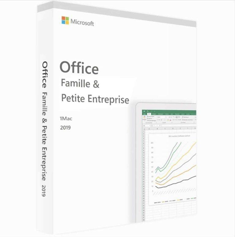 Microsoft Office 2019 Famille & Petite Entreprise pour Mac | McPrice Paris Trocadero