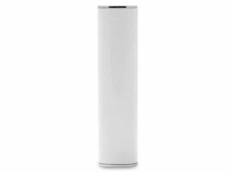 Power Bank Batterie externe portable Tube 3000 MAh Blanc v1 McPrice Paris Trocadero