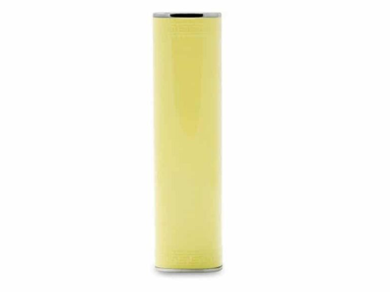 Power Bank Batterie externe portable Tube 3000 MAh Jaune v1 McPrice Paris Trocadero