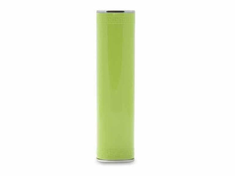 Power Bank Batterie externe portable Tube 3000 MAh Vert v1 McPrice Paris Trocadero