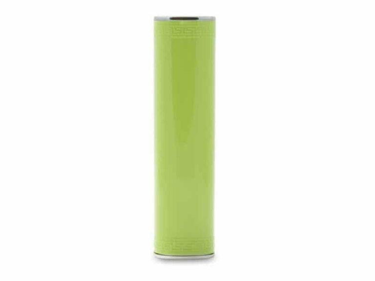 Power Bank Batterie externe portable Tube 3000 MAh Vert v1 McPrice Paris Trocadero