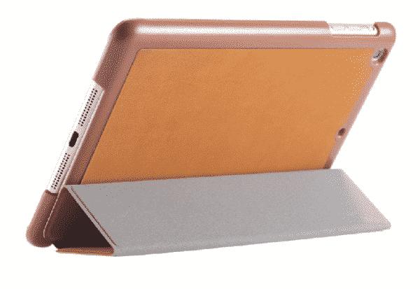 Slim Smart Cover Étui de protection pour Apple iPad 2/3/4 en Marron fond plein / McPrice Paris Trocadéro 1