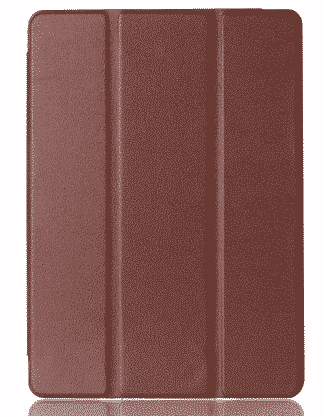 Slim Smart Cover Étui de protection pour Apple iPad Air 2 en Marron fond transparent | McPrice Paris Trocadéro