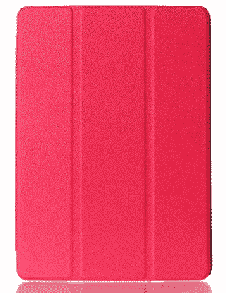 Slim Smart Cover Étui de protection pour Apple iPad Air 2 en Rose fond transparent | McPrice Paris Trocadéro
