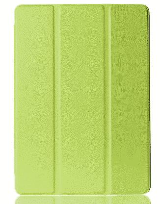 Slim Smart Cover Étui de protection pour Apple iPad Air 2 en Vert fond transparent | McPrice Paris Trocadéro