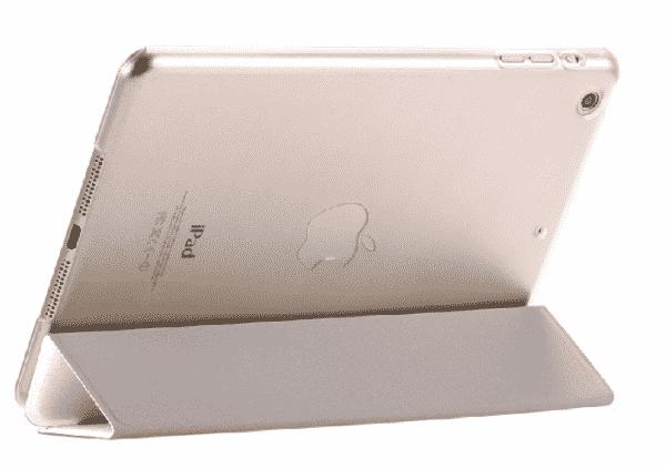 Slim Smart Cover Étui de protection pour Apple iPad Air en Blanc fond transparent | McPrice Paris Trocadéro