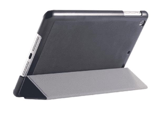 Slim Smart Cover Étui de protection pour Apple iPad Mini 1/2/3 en Noir fond plein   McPrice Paris Trocadéro