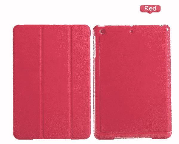 Slim Smart Cover Étui de protection pour Apple iPad Mini 1/2/3 en Rouge fond plein | McPrice Paris Trocadéro