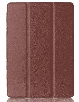 Slim Smart Cover Étui de protection pour Apple iPad Mini 4 en Marron fond transparent   McPrice Paris TRocadéro