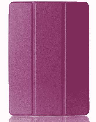 Slim Smart Cover Étui de protection pour Apple iPad Mini 4 en Violet fond transparent | McPrice Paris Trocadéro