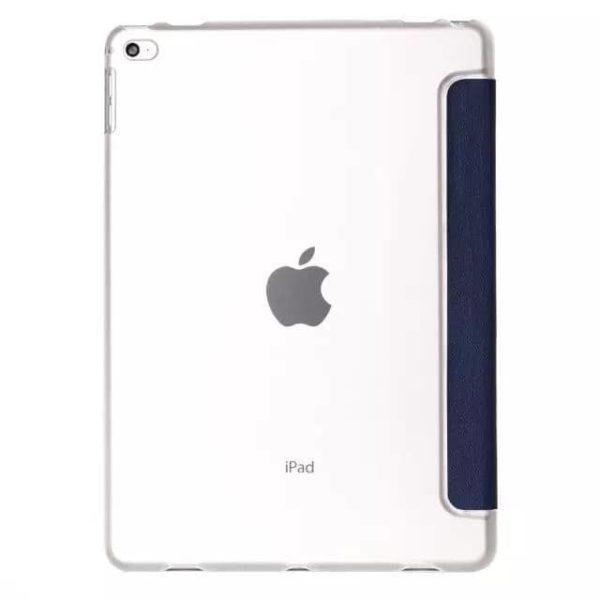 """Slim Smart Cover Étui de protection pour Apple iPad Pro 12,9"""" en Bleu foncé fond transparent   McPrice Paris Trocadéro"""