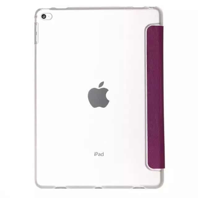 """Slim Smart Cover Étui de protection pour Apple iPad Pro 12,9"""" en Violet fond transparent   McPrice Paris Trocadéro"""