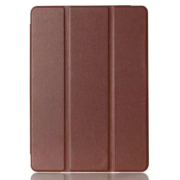 """Slim Smart Cover Étui de protection pour Apple iPad Pro 9,7"""" en Marron fond transparent   McPrice Paris Trocadéro"""