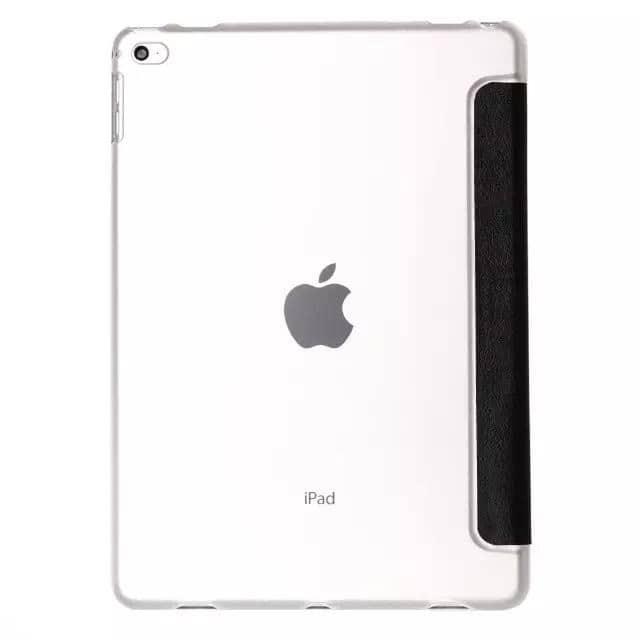 """Slim Smart Cover Étui de protection pour Apple iPad Pro 9,7"""" en Noir fond transparent   McPrice Paris Trocadéro"""