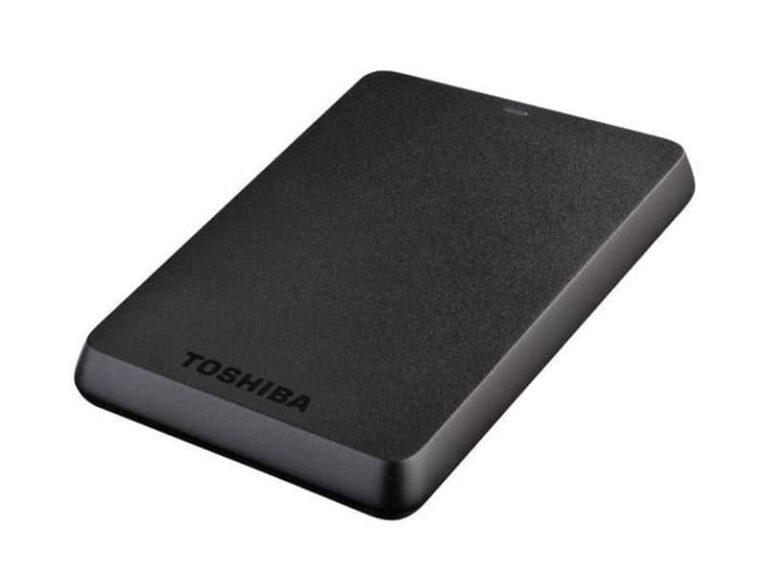TOSHIBA Disque dur externe portable Stor.e Basics - 2 To Noir v1 McPrice Paris Trocadero
