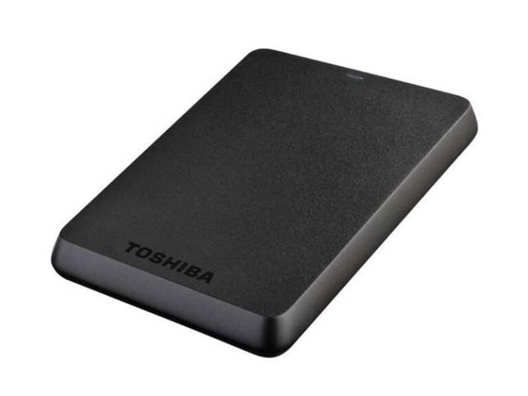 TOSHIBA Disque dur externe portable Stor.e Basics - 4 To Noir v1 McPrice Paris Trocadero