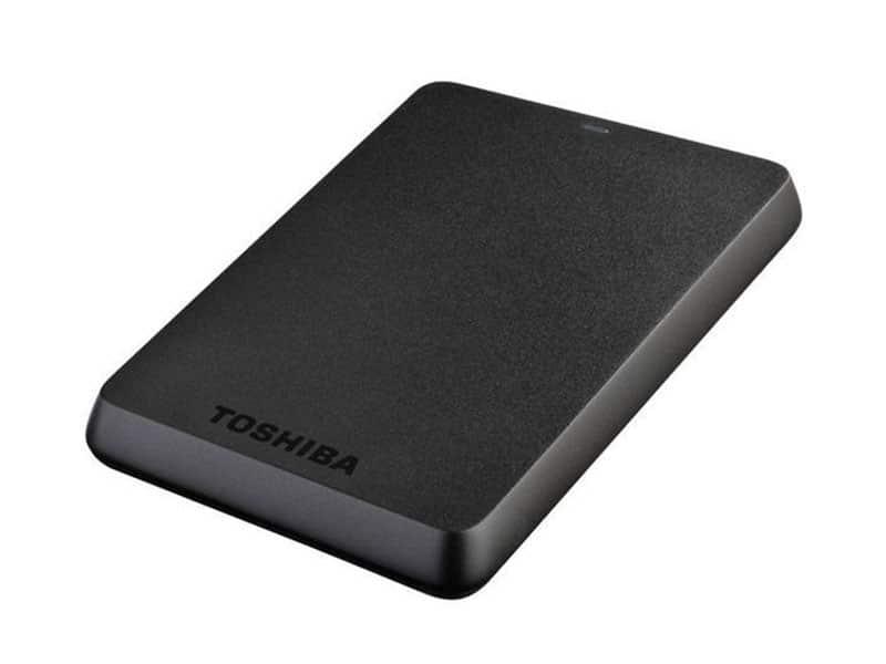 TOSHIBA Disque dur externe portable Stor.e Basics - 500 Go Noir v1 McPrice Paris Trocadero