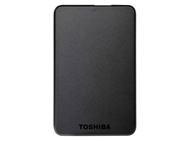 TOSHIBA Disque dur externe portable Stor.e Basics - 500 Go Noir v2 McPrice Paris Trocadero