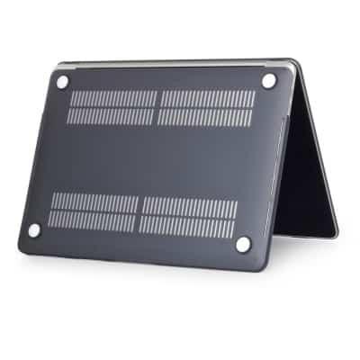 Coque de protection intégrale rigide mate pour MacBook Pro Rétina 15 Pouces A1707 Touch Bar – Noire / McPrice Paris Trocadero v1