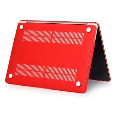 Coque de protection intégrale rigide mate pour MacBook Pro Rétina 13 Pouces A1706/A1708 New – ROUGE / McPrice Paris Trocadero v1